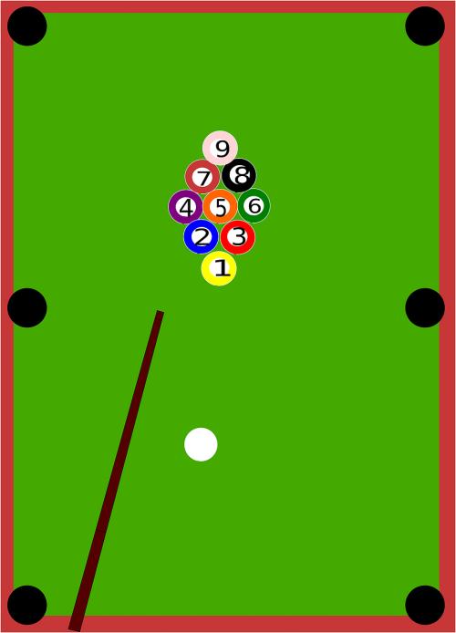 pool game sport