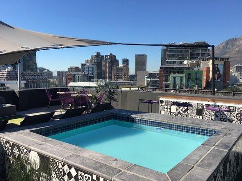 pool  modern  hotel