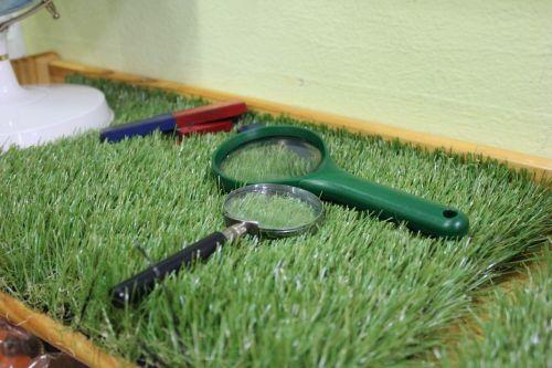 pool magnifying glass children's