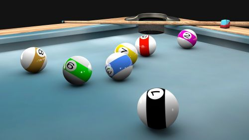 pool game billiard