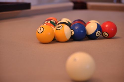 pool game billiard ball