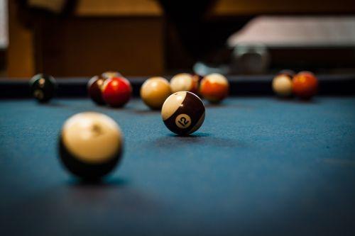 pool table green flat