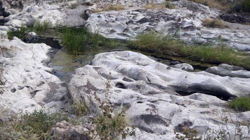 Pools Of Water In Rocks