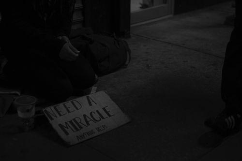 poor people homeless