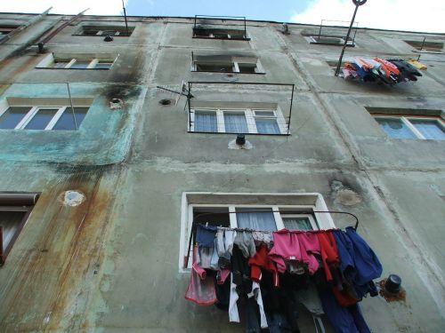 poor living neighborhood