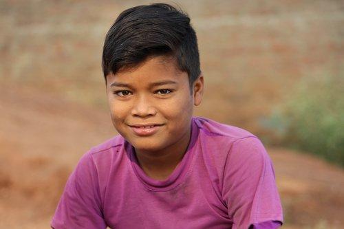 poor boy  cute  village boy