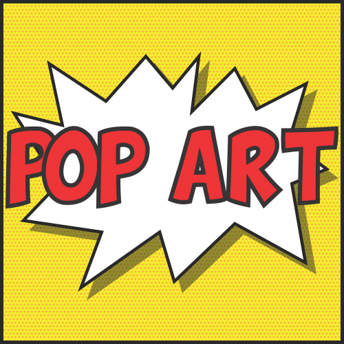 pop art design colour