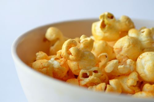 popcorn salted bowl