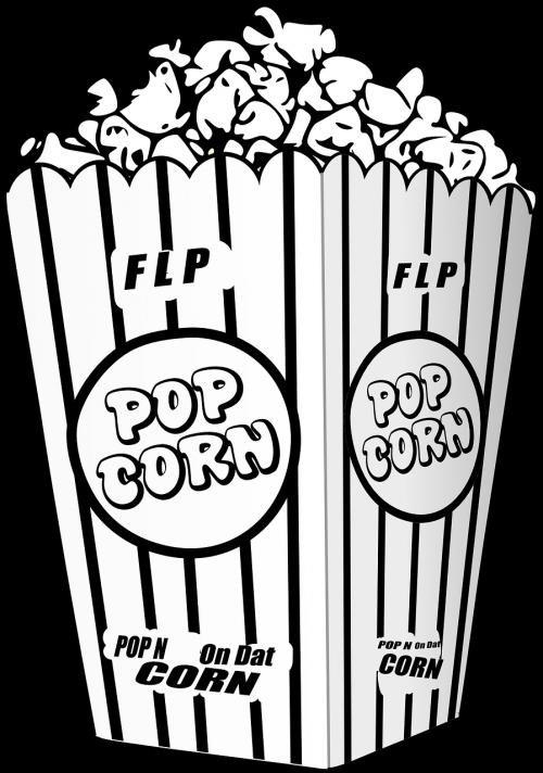 popcorn movie entertain