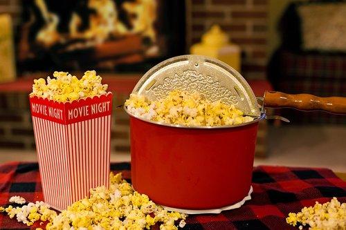 popcorn  movie time  snack
