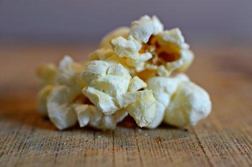 popcorn  closeup  macro