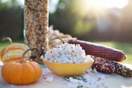 popcorn autumn fall