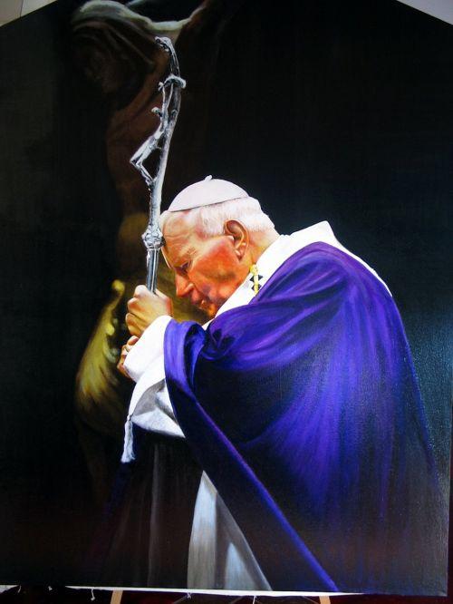 drawing pope john