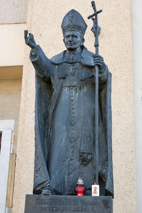 pope john paul ii pope monument