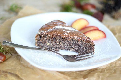 poppy cake plum