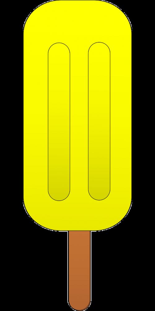 popsicle lollipop pineapple