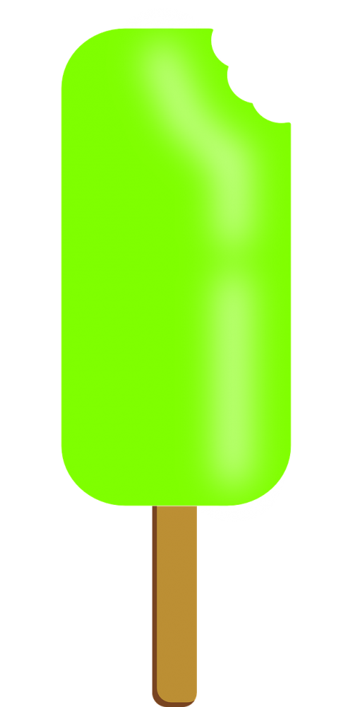 popsicle green food