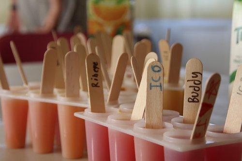 popsicle  summer heat  fun activity