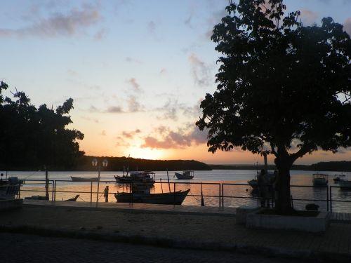 saulėlydis,saugus uostas,bahia,Brazilija saulėlydis,rojus,spalva,Brazilija ,Royalty Free