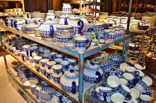 porcelain bunzlauer tableware