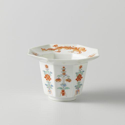 porcelain vessel flower print