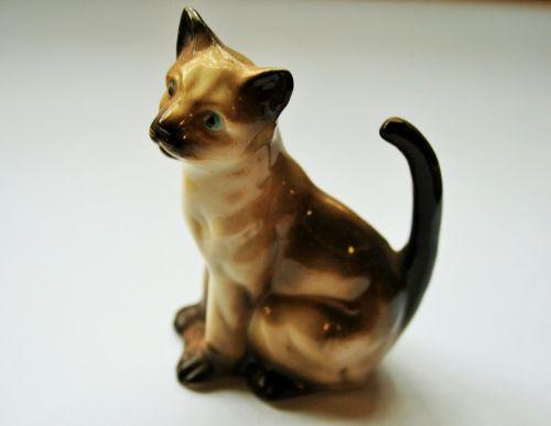 figūrėlė, porcelianas, skanėsto, katė, porcelianas katinas