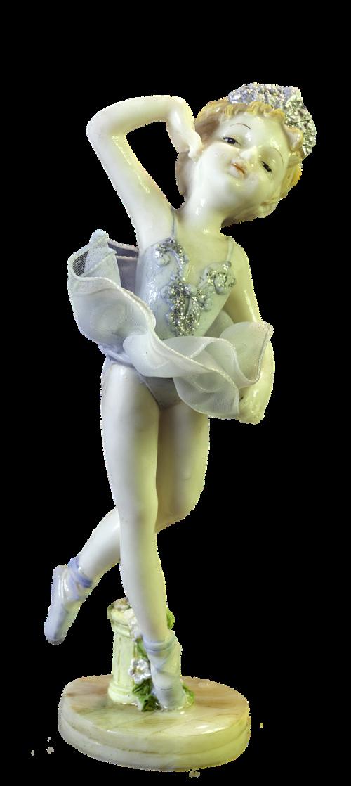 porcelain doll ballerina doll 3d model