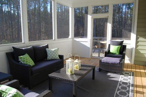 porch sunroom indoors