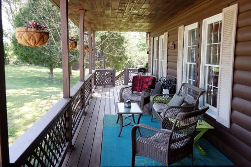 porch country living covered porch