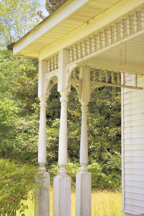 porch porch railing home