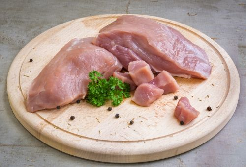 pork meat raw