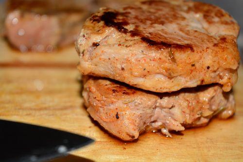 pork steak steak meat