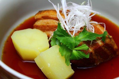 pork stew  cuisine  japanese food