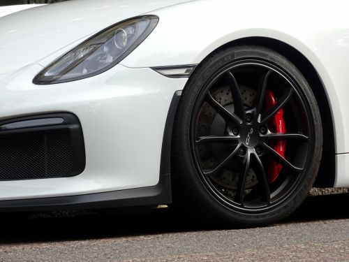 Porsche Car Front Wheel Arch