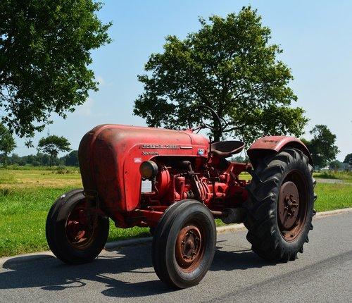 porsche diesel standard  vehicle  tractor
