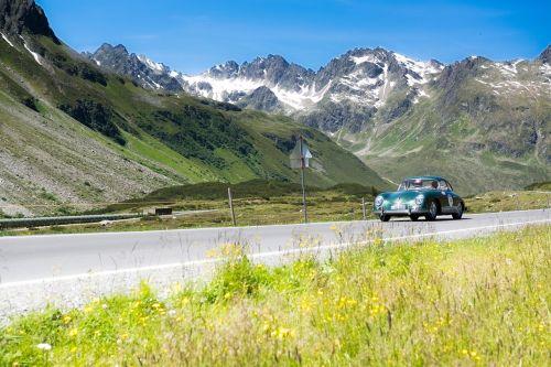 porsche passport travel silvretta classic rally bergstrasse