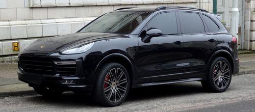 Porsche SUV Vehicle