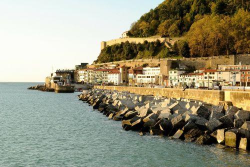 port san sebastian maritime landscape