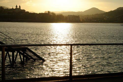 port maritime landscape san sebastian