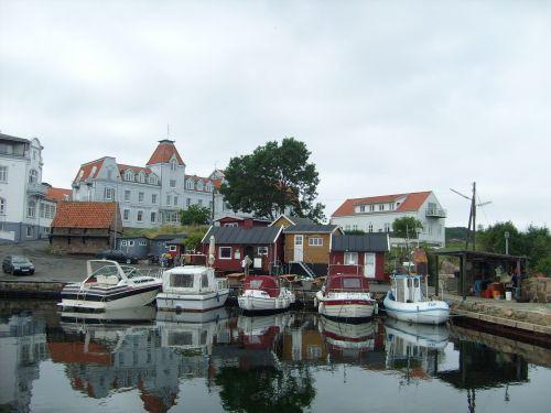 port boats bornholm