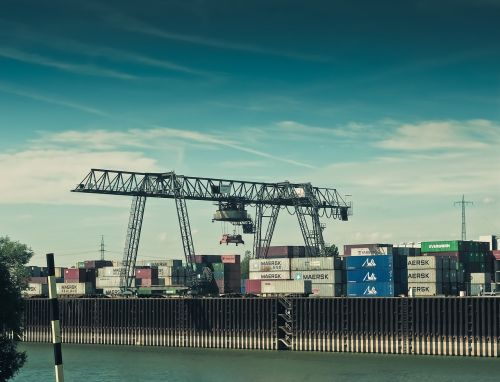 port container container terminal