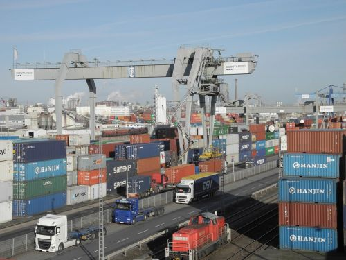 port container shipping