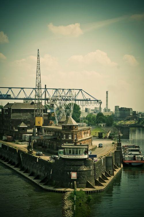 port inland port water