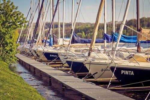 port sailing boats create