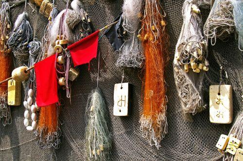 port fishing net fischer