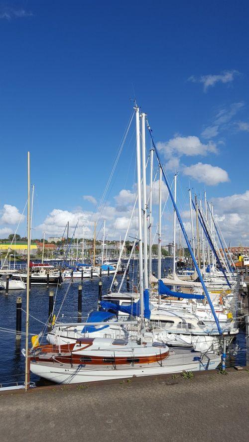 port ships baltic sea