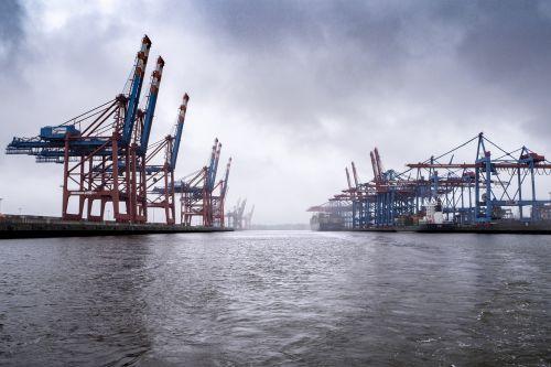 port terminal cranes