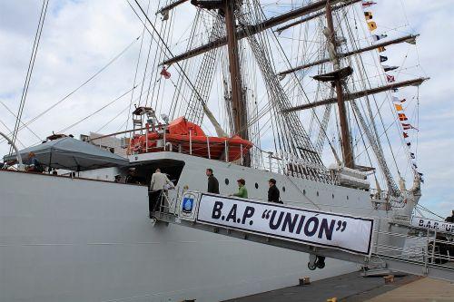 port sail training ship peru