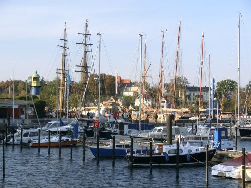 port eckernförde lake
