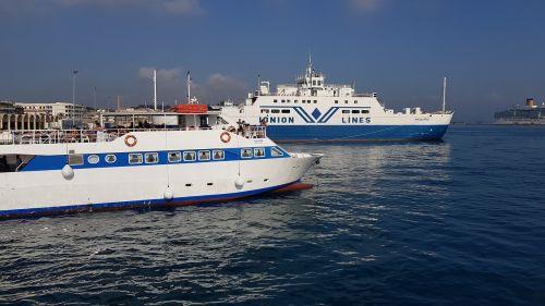 port corfu ferry